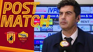 BENEVENTO-ROMA POST MATCH | Paulo Fonseca