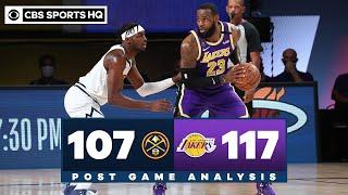 Nuggets vs Lakers: LeBron leads LA back to Finals after closing out Denver in Game 5 | CBS Sports HQ