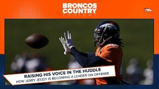 How Jerry Jeudy is becoming a vocal leader for Denver on offense | Broncos Country Tonight