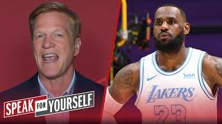 I'm not buying LeBron's confidence in Lakers' roster — Ric Bucher | NBA | SPEAK FOR YOURSELF