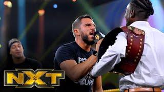 """Leon Ruff, Johnny Gargano and Damian Priest join """"The Kevin Owens Show"""": WWE NXT, Nov. 25, 2020"""