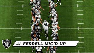 "Clelin Ferrell Mic'd Up at Allegiant Stadium: ""Turn Me Up!"" 
