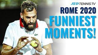 Lights-Out Tennis & Paire Antics in Funny Moments & Fails from Rome 2020!