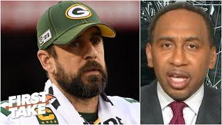 Stephen A. explains why Aaron Rodgers should be frustrated with the Packers | First Take
