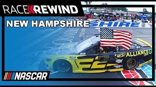 Fight to the finish: Keselowski holds of Hamlin for 3rd win of the season | NASCAR in 15 minutes