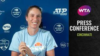 Johanna Konta 'I'm pleased with the level I'm playing at'   2020 Cincinnati Post-Match Interview