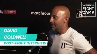 """""""The future is very bright!"""" - Dave Coldwell reflects on Hopey Price performance at Fight Camp"""