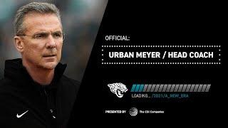 Urban Meyer Meets With Local Media for First Time as Jaguars Head Coach