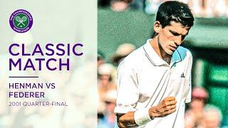 Roger Federer vs Tim Henman | Wimbledon 2001 Quarter-final Replayed