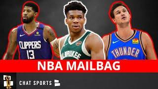 NBA Rumors: Bucks Trading Giannis? Danilo Gallinari To The Warriors? Paul George Trade? NBA Mailbag