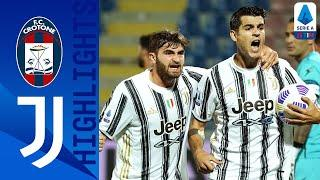 Crotone 1-1 Juventus | Morata Equalises For Juventus After Crotone Take Early Lead! | Serie A TIM