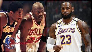 Which leadership style is the best for winning - Kobe Bryant, LeBron James, or MJ? | NBA Countdown