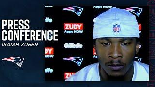 Isaiah Zuber: Cam Newton is the Hype Man of the Team | Press Conference (New England Patriots)