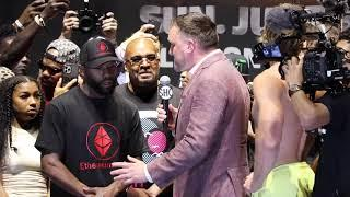 """""""I'M NOT WORRIED ABOUT NO HAT… HEIGHT DON'T WIN FIGHTS!"""" FLOYD MAYWEATHER ON LOGAN PAUL"""