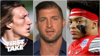 Tim Tebow on how Justin Fields' Heisman chances change with Trevor Lawrence's absence   First Take