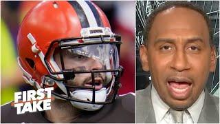Stephen A. rips Baker Mayfield's Week 1 performance against Lamar Jackson & the Ravens | First Take