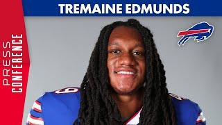 """Tremaine Edmunds: """"Guys Just Want to Get Better""""   Buffalo Bills"""