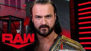 Drew McIntyre accepts Randy Orton's Hell in a Cell challenge: Raw, Oct. 5, 2020