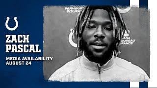 Zach Pascal On Connecting With Philip Rivers, Growing His Game