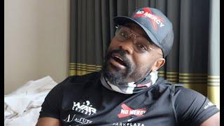 'YOU A******. GET THE F*** OUT' - DERECK CHISORA LOSES IT IN INTERVIEW/ TALKS USYK, HEARN, AJ FIGHT