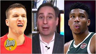 Bucks have gone silent on Giannis' extension after Bogdanovic trade fell through - Lowe | The Jump