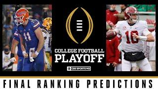College Football Playoff: Final CFP Raking Predictions | CBS Sports HQ
