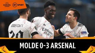 Molde v Arsenal (0-3) | Europa League Highlights
