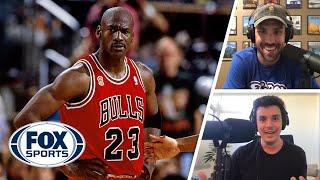 Michael Jordan's mentality is crazy outside the context of basketball | Titus & Tate | FOX SPORTS
