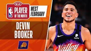 Devin Booker Is Named #KiaPOTM For February   Western Conference