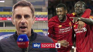 Gary Neville's FIRST interview since Liverpool's Premier League title win