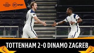 Tottenham vs Dinamo Zagreb (2-0) | Harry Kane at the double! | Europa League Highlights