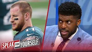 Eagles should not trade Wentz, Jalen Hurts isn't a proven solution — Acho | NFL | SPEAK FOR YOURSELF