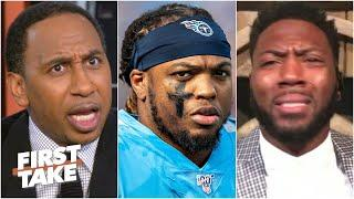 You better watch your mouth! – Stephen A. can't believe Ryan Clark's Derrick Henry take