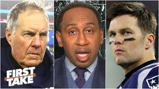 Stephen A. explains what Tom Brady & Gronk's reunion says about Bill Belichick   First Take