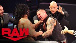 Drew McIntyre and Randy Orton brawl as Raw goes off the air: Raw, Oct. 12, 2020