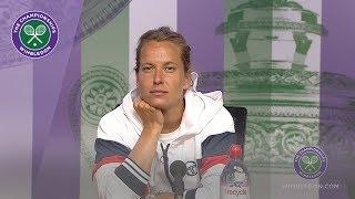 Barbora Strycova Semi-Final Press Conference Wimbledon 2019