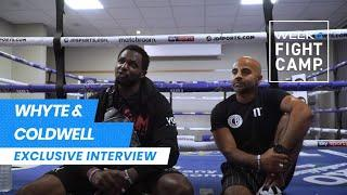EXCLUSIVE: Dillian Whyte & Dave Coldwell discuss link-up for Povetkin clash