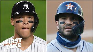 Discussing the Yankees vs. Rays series & the Astros' World Series chances   First Take