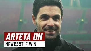 'Smith Rowe's an important player' | Mikel Arteta on Arsenal 2-0 Newcastle | Emirates FA Cup