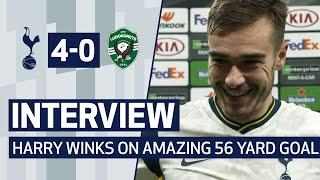 """""""I'D LOVE TO SAY I MEANT IT...""""   HARRY WINKS ON INCREDIBLE 56-YARD STRIKE V LUDOGORETS!"""