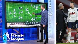How Tottenham get stretched too thin away from home | Premier League Tactics Session | NBC Sports