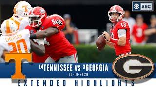 #14 Tennessee Volunteers vs #3 Georgia Bulldogs: Extended Highlights | CBS Sports