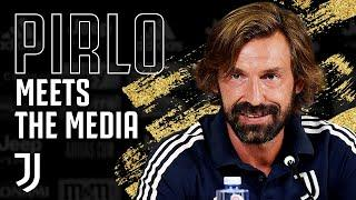 Andrea Pirlo Speaks as Juventus Manager for the First Time!
