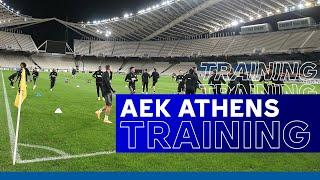 The Foxes Train At Athens Olympic Stadium! UEL Training | AEK Athens vs. Leicester City