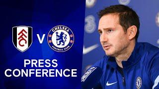 Frank Lampard On Upcoming Derby & Tomori's Long-Term Future: Fulham v Chelsea | Premier League