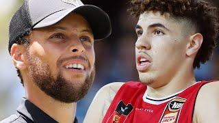 Stephen Curry Suggests Warriors Should NOT Draft LaMelo Ball, Try To Get Someone Else With #2 Pick