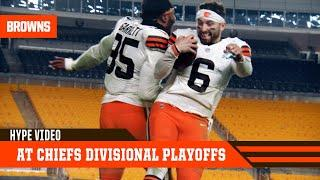 Browns at Chiefs Divisional Playoff Hype | Cleveland Browns