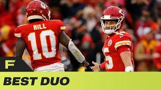 Jackie Rae Lists the BEST Quarterback & Wide Receiver Duo's In The NFL Today