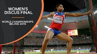 Women's Discus Final | World Athletics Championships Beijing 2015