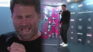 Fight Camp Karaoke | Eddie Hearn sings Ain't No Sunshine